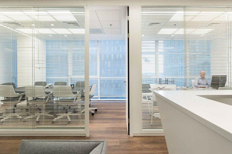 עיצוב משרדים חברת Clearfuture