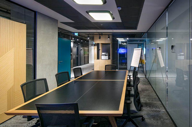 עיצוב משרדים חדר ישיבות - Markets Pulse