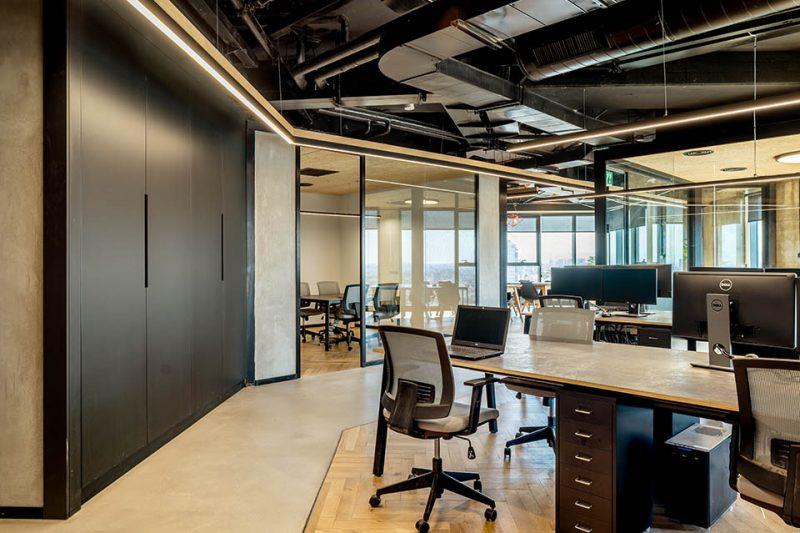 פרויקט עיצוב משרדים SIEMPLIFY