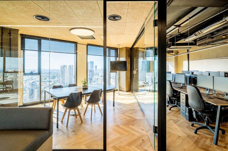 עיצוב משרדים פרויקט SIEMPLIFY