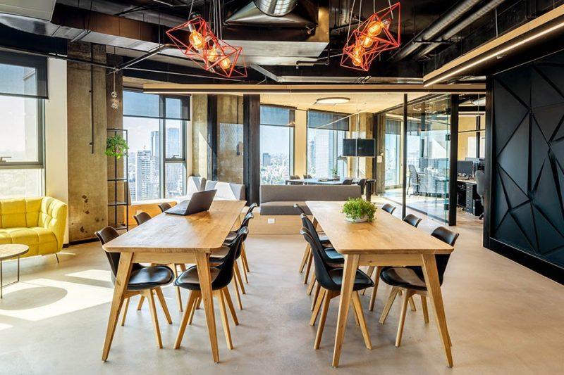 פרויקט עיצוב משרדי SIEMPLIFY