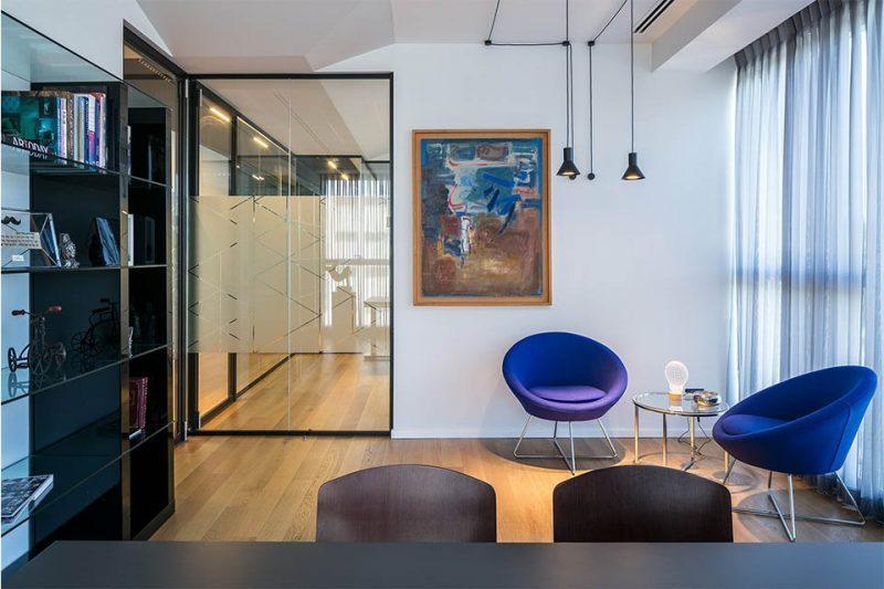 אדריכלות משרדים פרויקט שרם