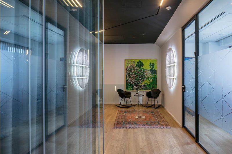 עיצוב משרדים פרויקט שרם