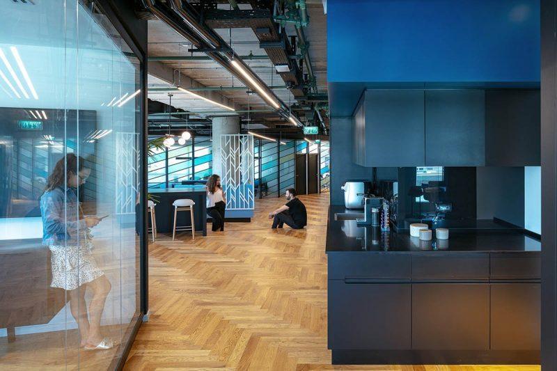 עיצוב משרדים - BATTERY VENTURES