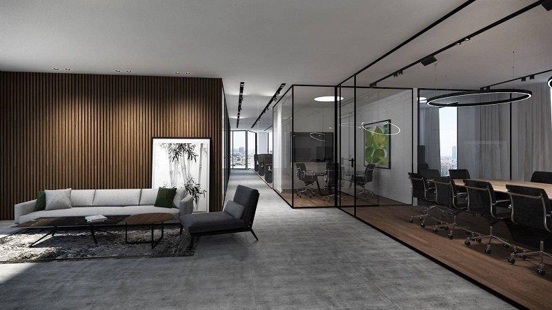 פרויקט עיצוב משרדי חברת CIB
