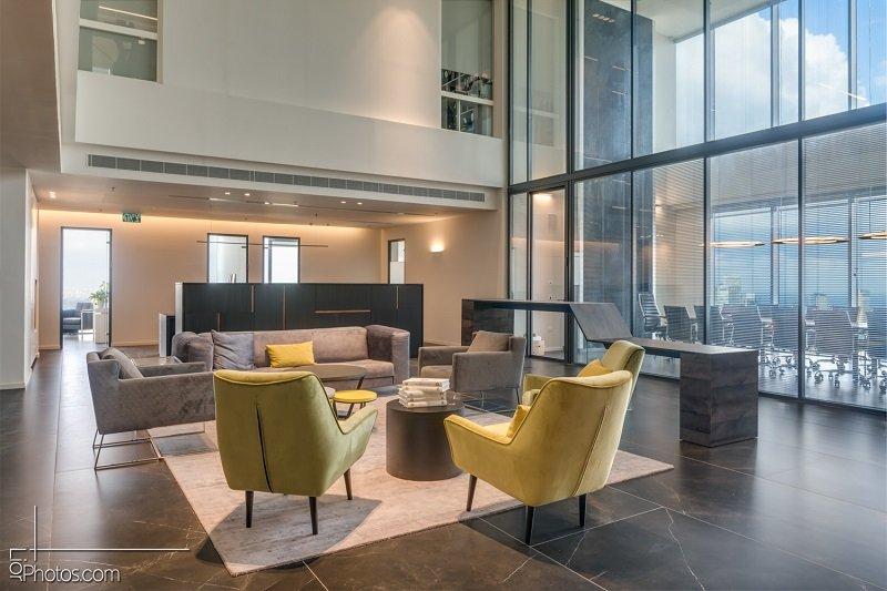 פרויקט עיצוב משרדי HBW Law office