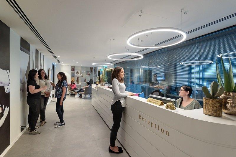 עיצוב משרדי הנהלת רשת פאתל
