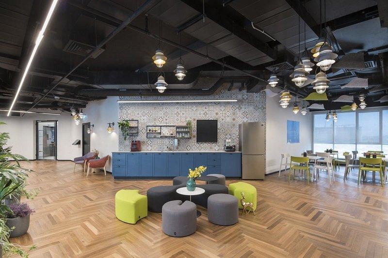עיצוב משרדים open space - חברת ARM