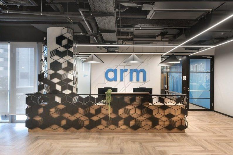 עיצוב משרדים -חברת ARM