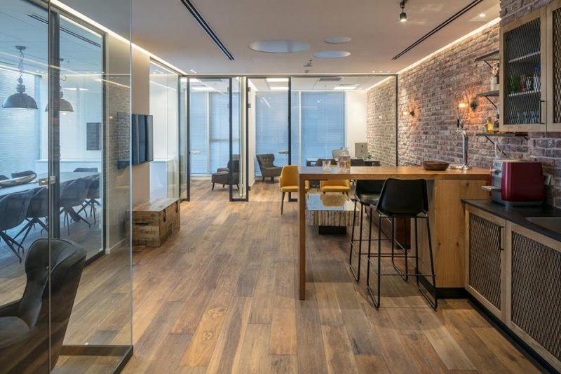 אדריכלות משרדים חברת Security Consulting Style