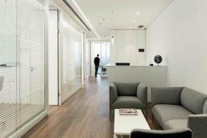 פרוייקט עיצוב משרדים לחברת Cleanfuture