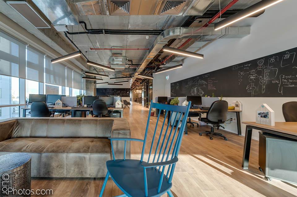 עיצוב משרדי MER GROUP