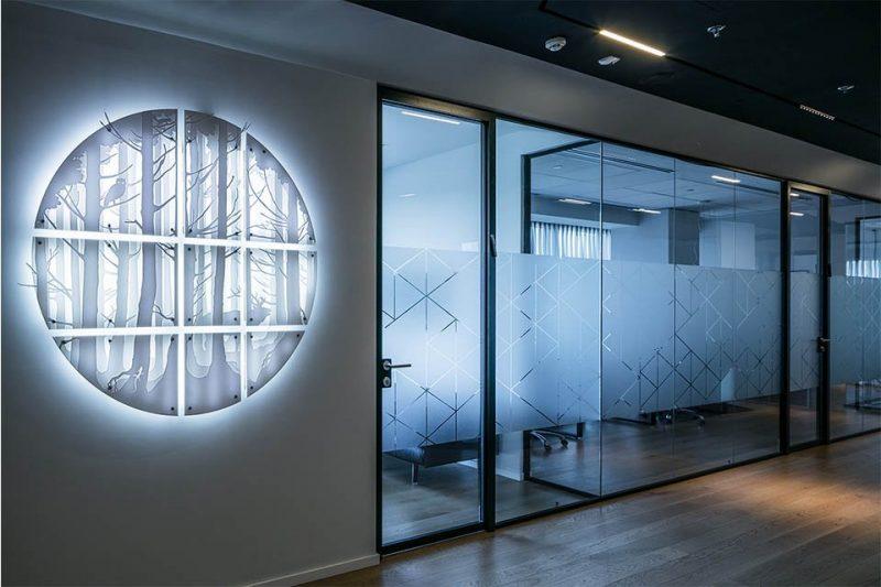 עיצוב משרדי חברת שרם
