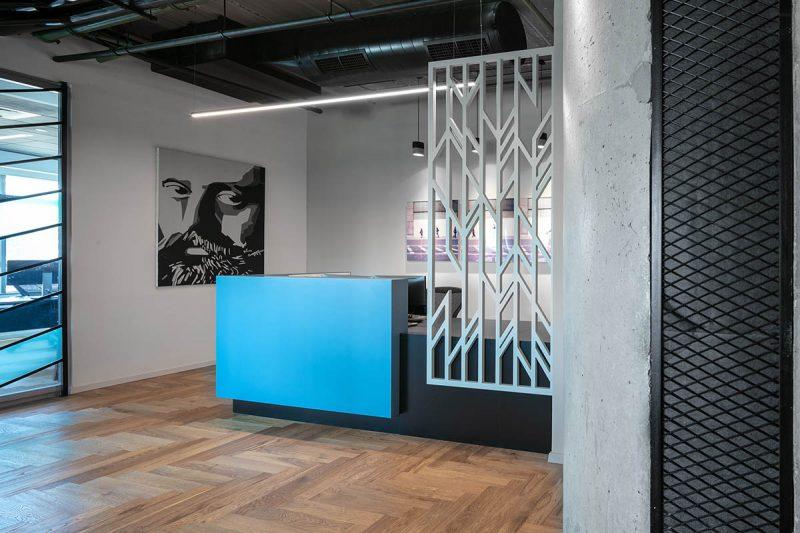 עיצוב לובי המשרד